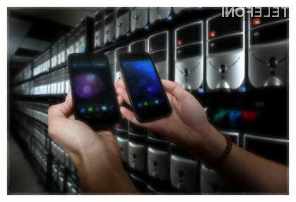 Navidezno omrežje 300 tisoč pametnih mobilnikov Android.