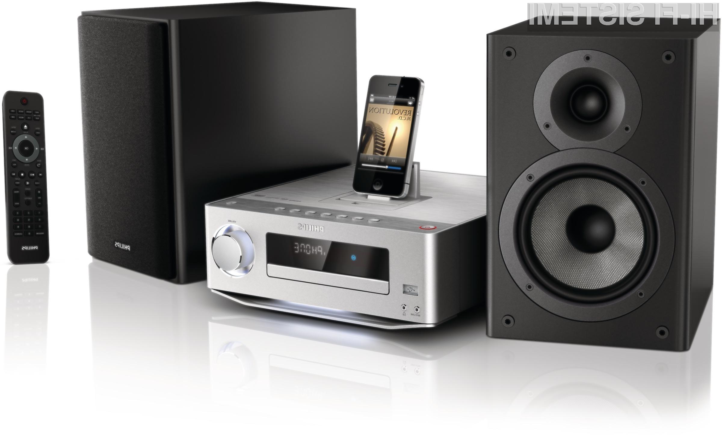 Philipsov DCD7010 bo uporabnikom ponudil izjemno čist in naraven zvok.
