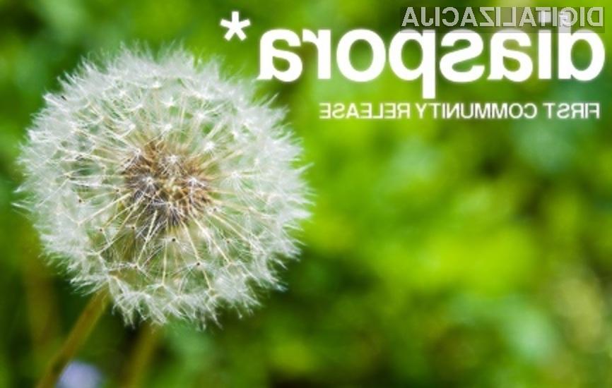 Družbeno omrežje Diaspora ima zelo velik potencial za uspeh!