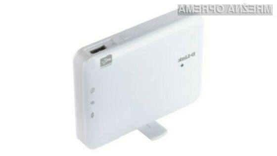 D-Link predstavlja žepni oblačni usmerjevalnik