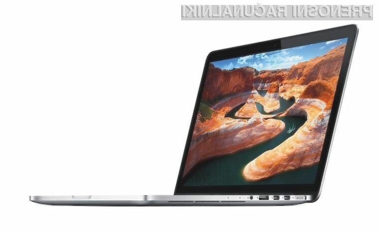 Tako popravilo kot nadgradnja novega prenosnika MacBook Pro nista mogoča!