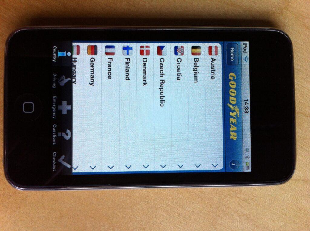 European Road Safety App