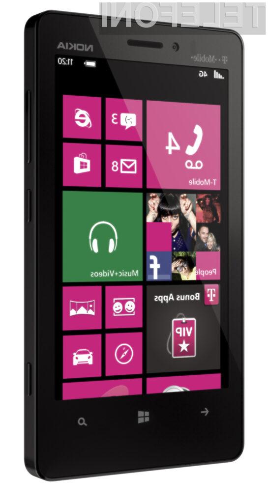Nokia Lumia 810 bo na voljo zgolj v ponudbi ameriškega operaterja T-Mobile.
