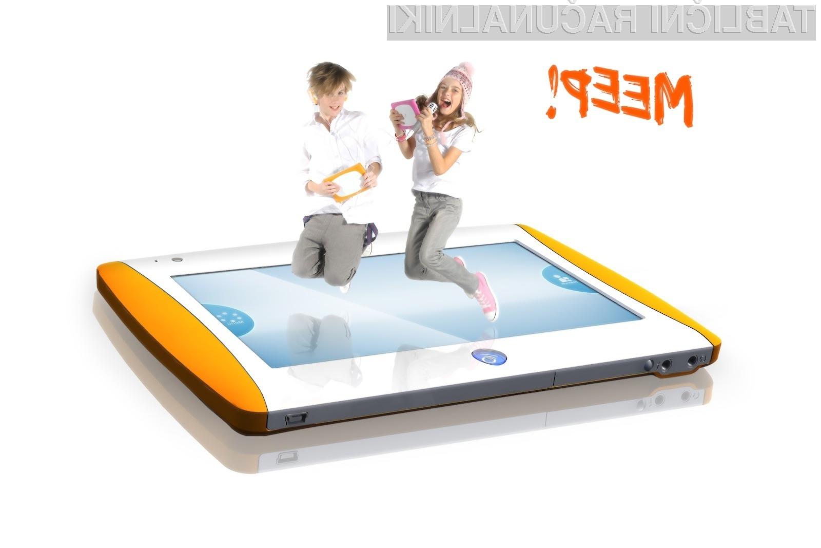 MEEP! je 7 palčni tablični računalnik namenjen majhnim otrokom.
