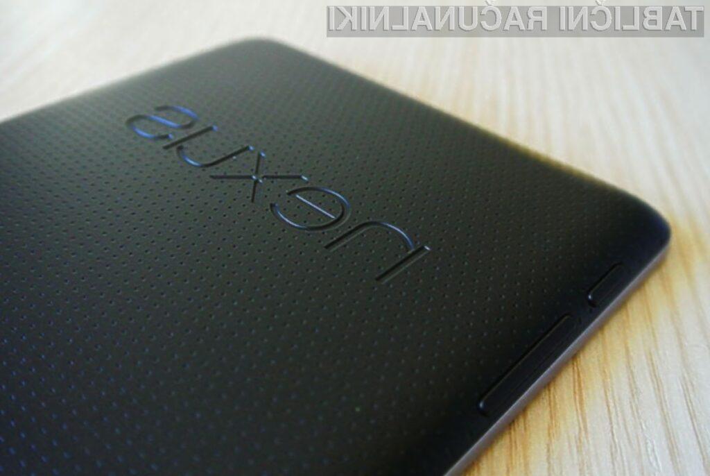 Google Nexus 7 z 32 gigabajti pomnilnika bo kot nalašč tudi za zahtevnejše uporabnike.