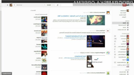 Nova podoba YouTube-a bo precej podobna družbenemu omrežžju Google+.