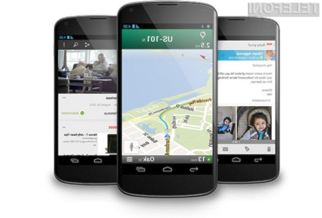 Pametni mobilni telefon Google Nexus 4 ima vse adute za uspeh!