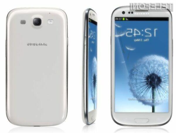 Letni strošek vsakodnevnega polnjenja supermobilnika Samsung Galaxy S3 znaša zgolj 41 evrskih centov.