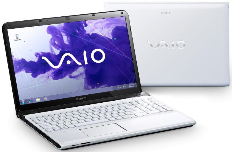 Prelep beli  prenosnik z oznako SVE1511K1EW se lahko v novi izvedbi pohvali z kar 750 GB diskovnega prostora