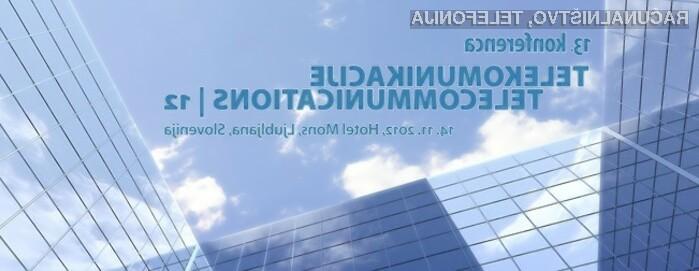 Pred nami je 13. konferenca Telekomunikacije 2012, ki se bo odvila 14. novembra v Hotelu Mons v Ljubljani.
