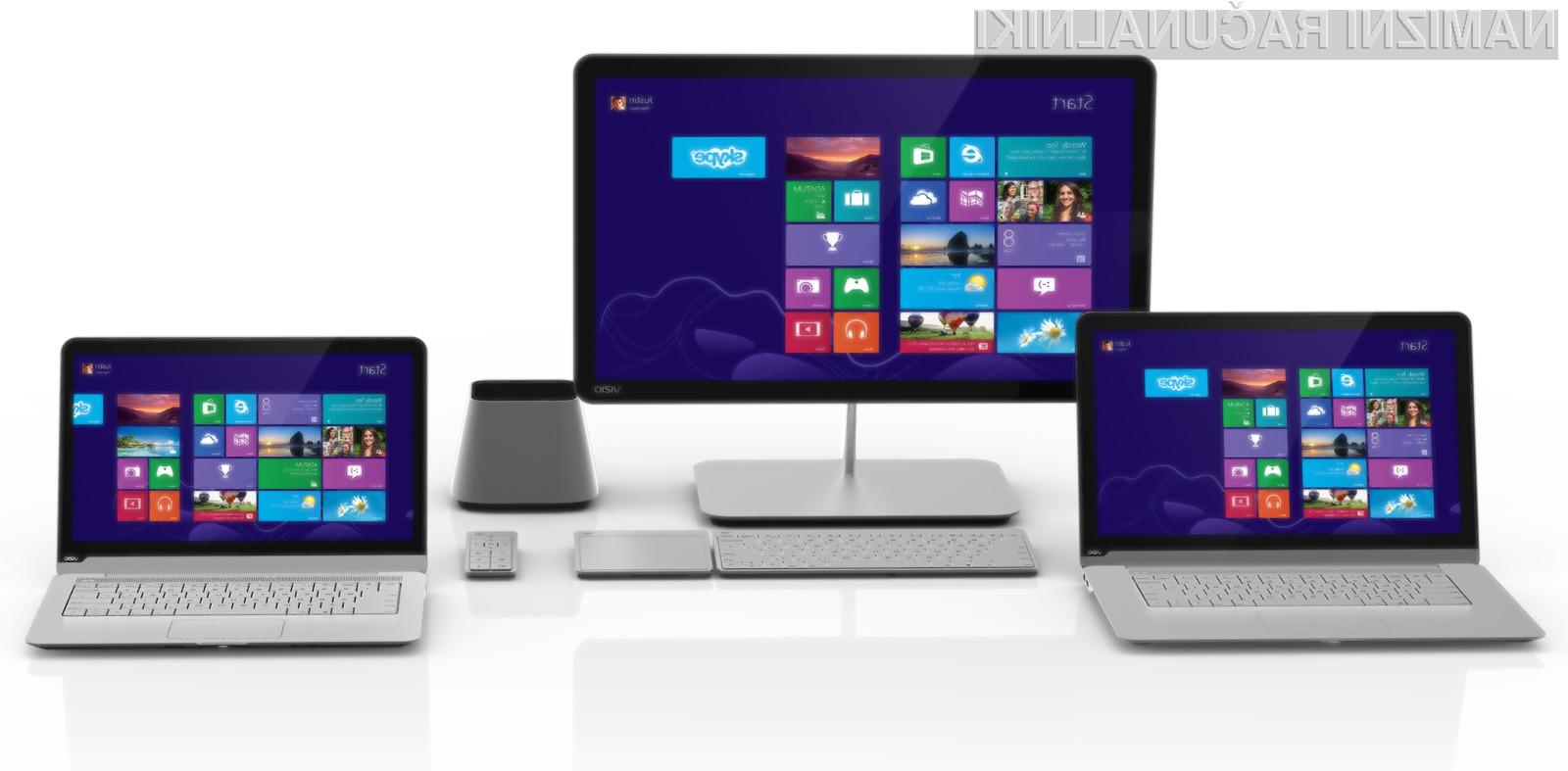 Novo družino računalnikov podjetja Vizio bo zaznamoval čudovit dizajn in precej dostopne cene.