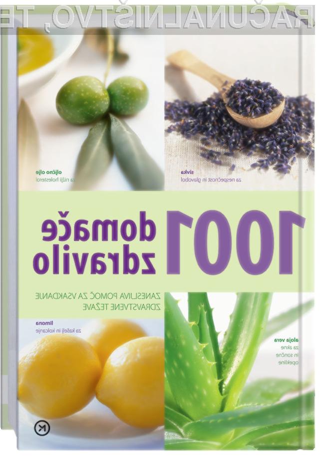 Knjiga 1001 domače zdravilo