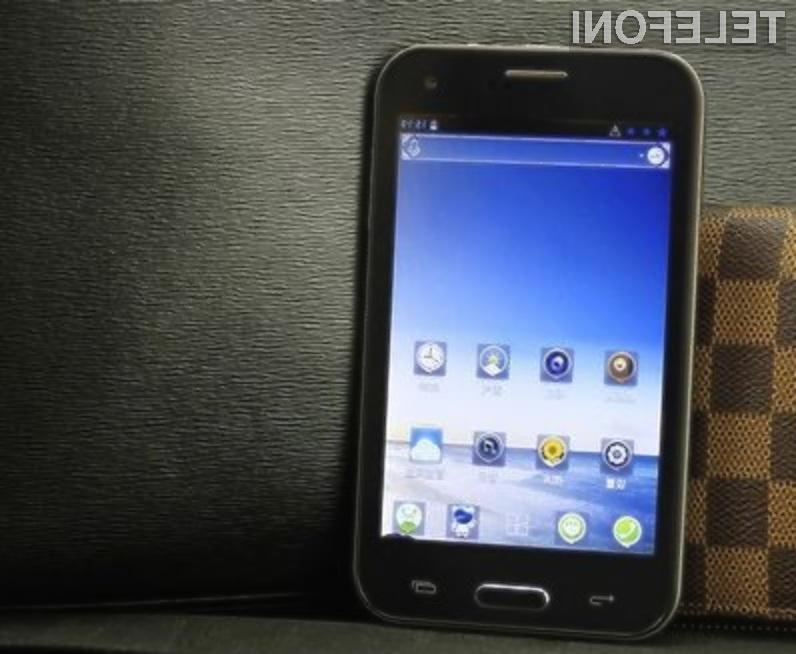 """Zmogljivi mobilniki z velikimi zasloni se na Kitajskem prodajajo že za """"drobiž""""!"""