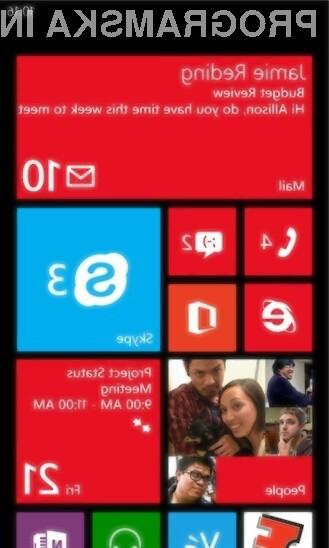 Mobilni Skype za Windows Phone 8 navdušuje v vseh pogledih!