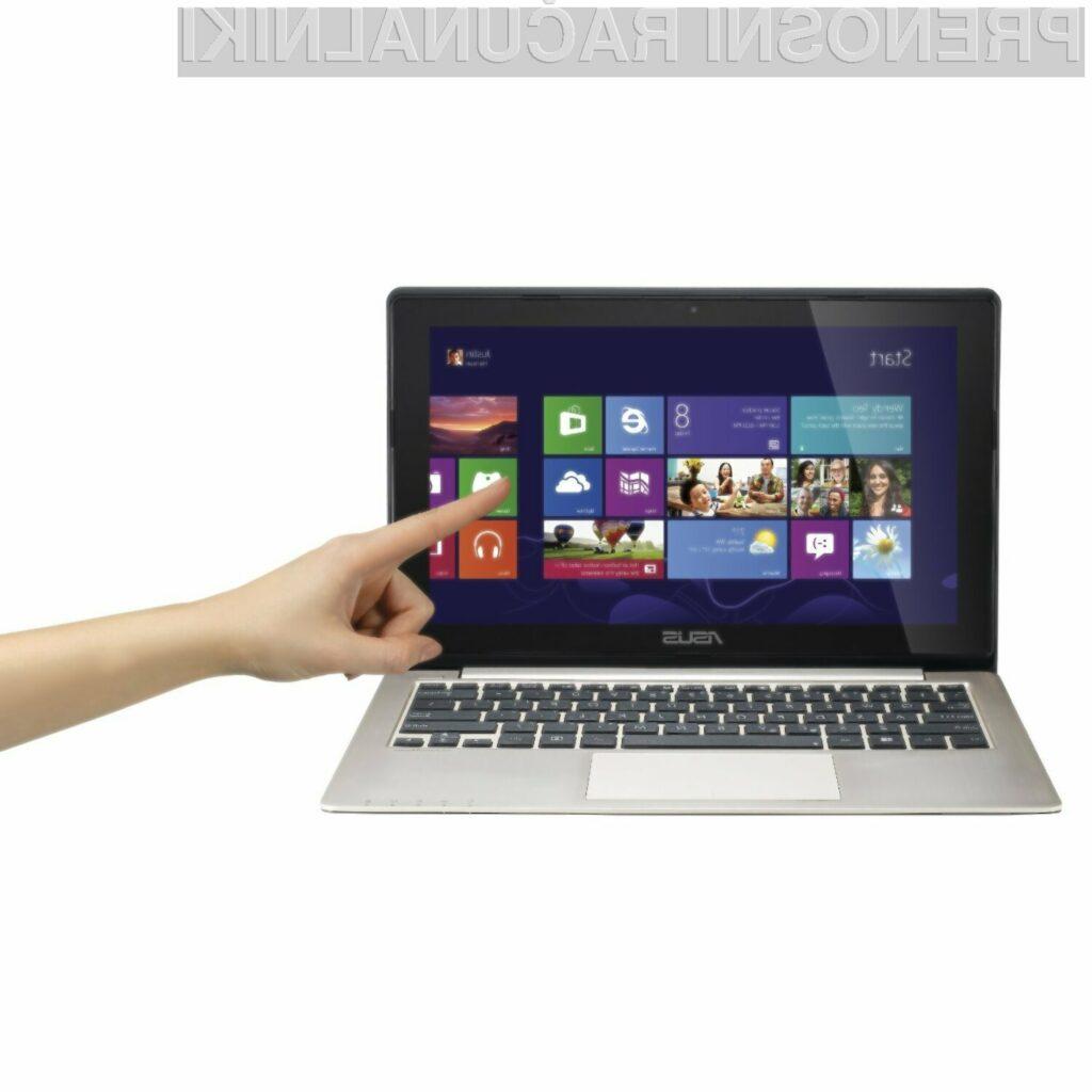 Acerjev Aspire V5-571P je eden prvih, ki se lahko pohvali s 15 palčnim na dotik občutljivim zaslonom.