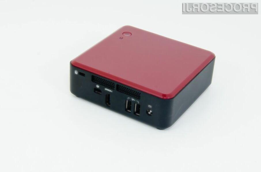 Intel NUC: Kompakten in zmogljiv osebni računalnik za 235 evrov