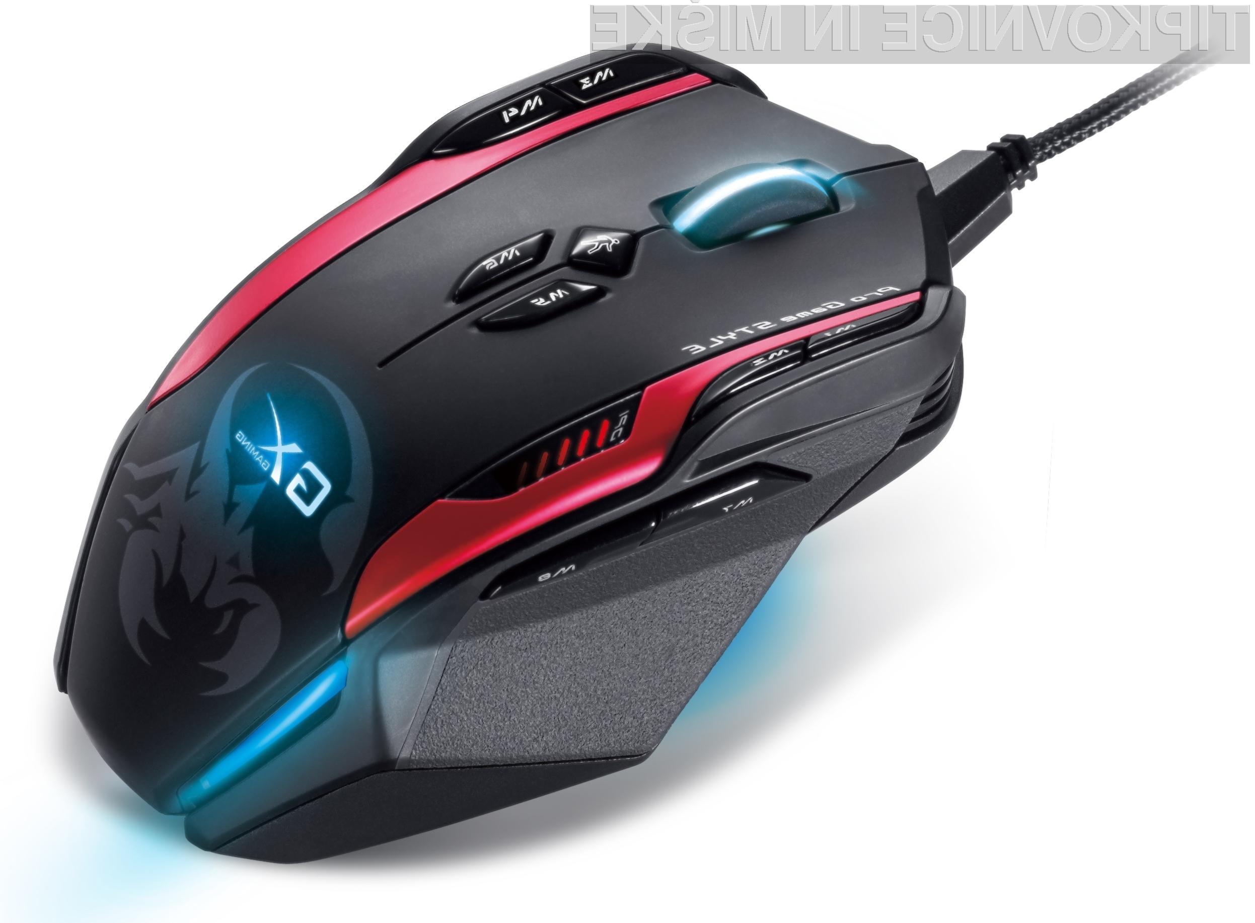Miška z oznako Gila se bo več kot odlično znašla v vseh žanrih računalniških iger.