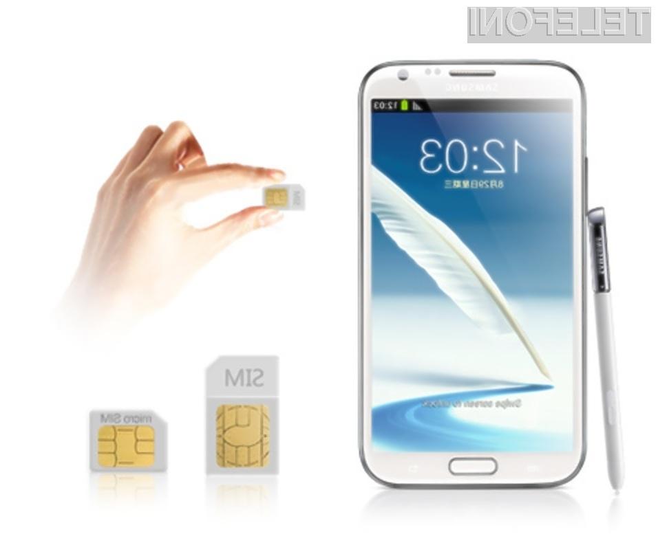 Novi Galaxy Note 2 združuje zmogljivost, uporabnost in eleganco.