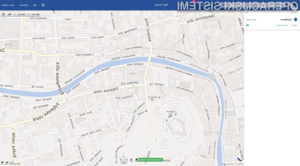 Nokia Here izziva zemljevide!