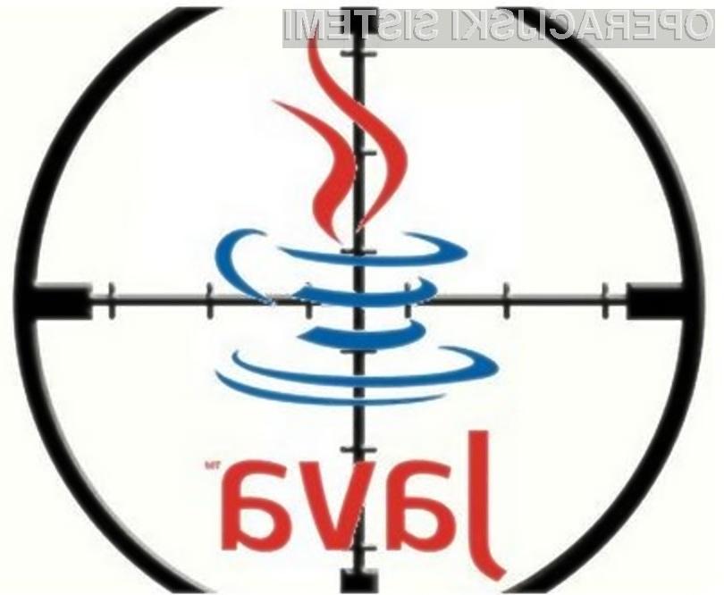 Če se le da, programskega paketa Java ne uporabljajte!