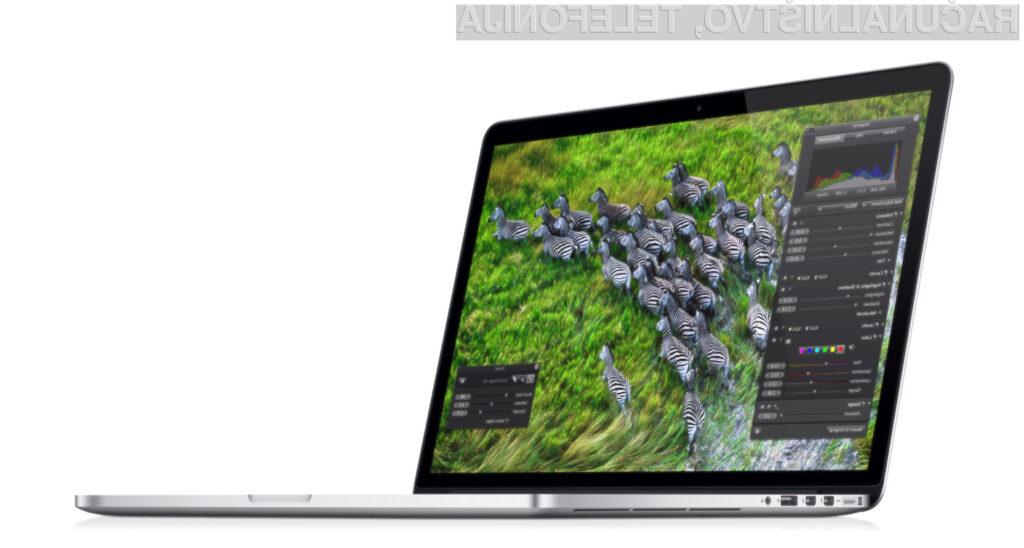 MacBook Pro se lahko pohvali z odličnim zaslonom, še posebej različice Retina.