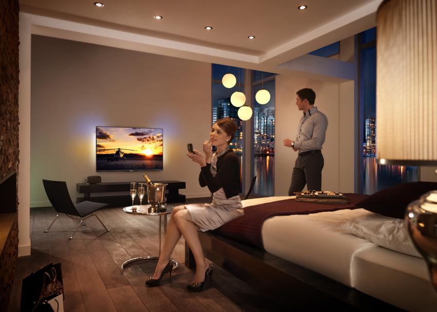 Philips z najširšo ponudbo televizorjev v segmentu hotelirstva in zdravstva