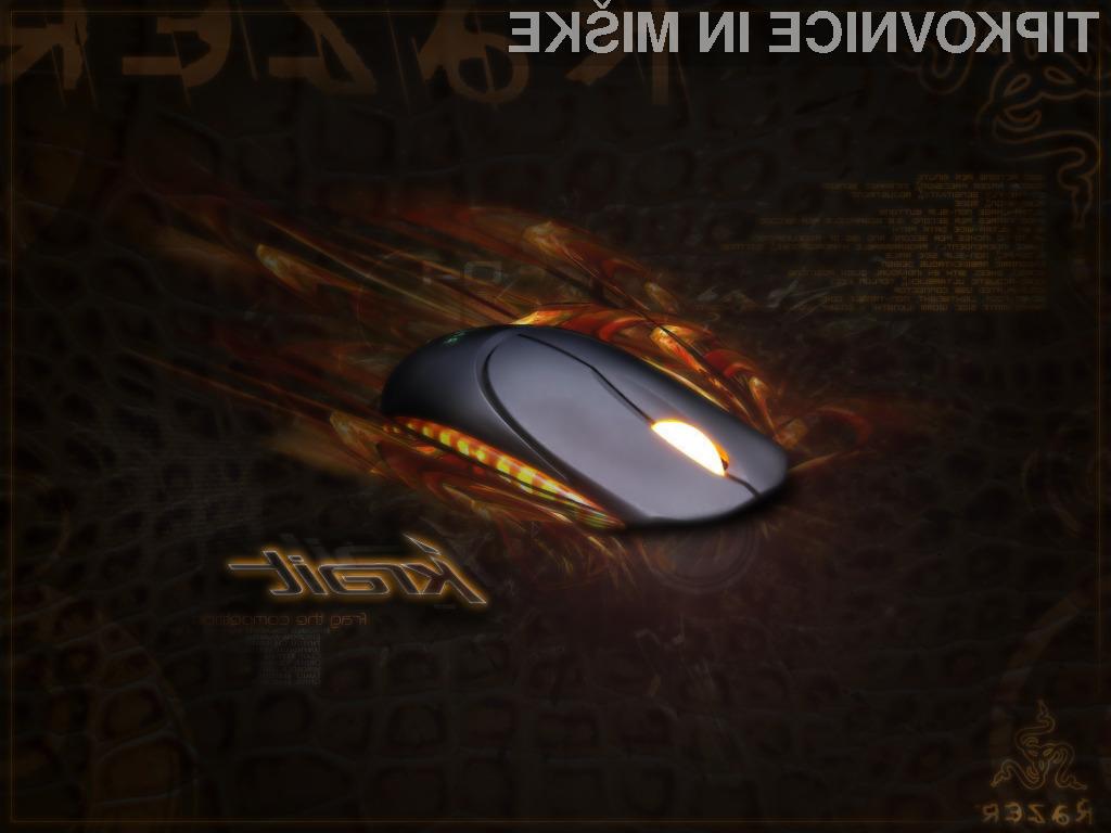 Podjetje Razer je prenovilo tudi kultni model računalniške miške Krait.