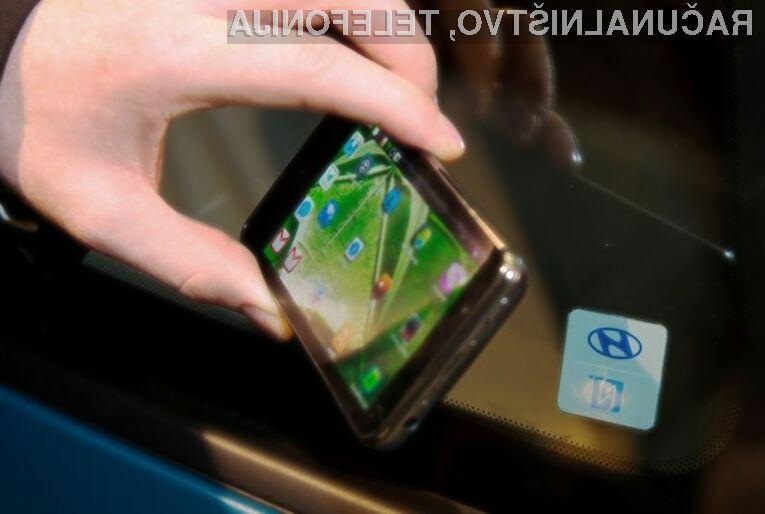 Avtomobili in pametni mobilni telefoni bodo kmalu postali neločljivi!