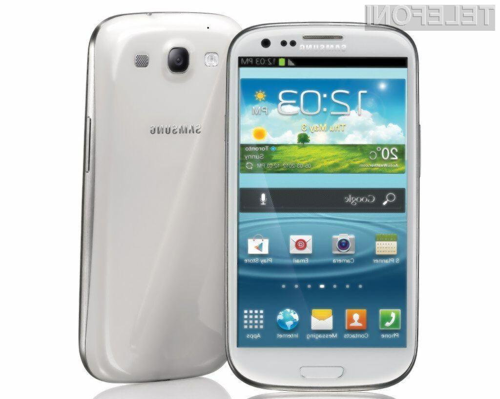 Med uporabniki storitev mobilne telefonije so zdaleč najbolj priljubljeni mobilniki Samsung.