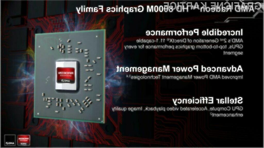 AMD bo novo generacijo mobilnih grafičnih kartic predstavil na letošnjem CES-u.