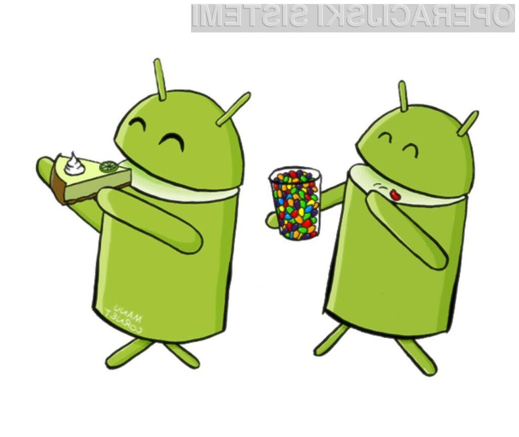 Mobilni operacijski sistem Android 5.0 Key Lime Pie pričakujemo prihodnje leto!