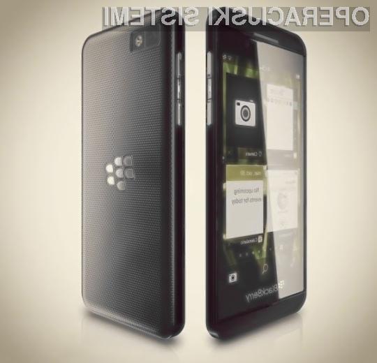Podjetje RIM vse svoje upe polaga na novi poslovni mobilnik BlackBerry Z10.