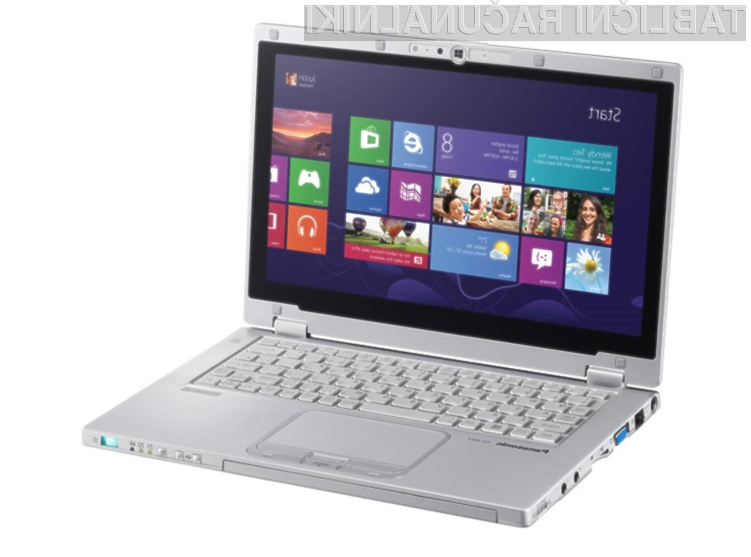 Ultrabook Panasonic Toughbook CF-AX2 bomo le stežka uničili!