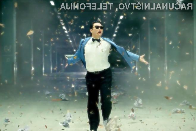 Gangham Style z milijardo ogledi na youtubu!