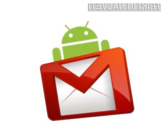 Prenovljeni Gmail za Android prinaša bogato paleto novih možnosti!