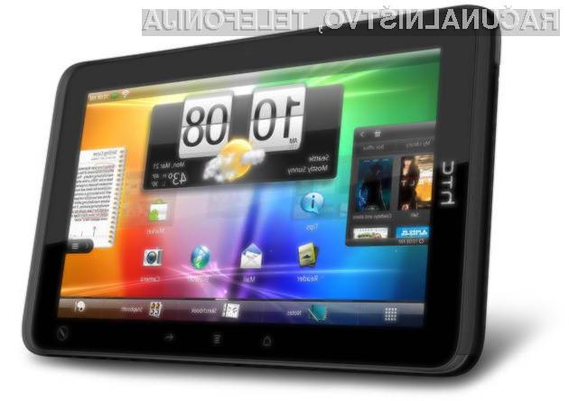 Ali bodo nove HTC tablice lahko konkurirale Applovim in Samsungovim?