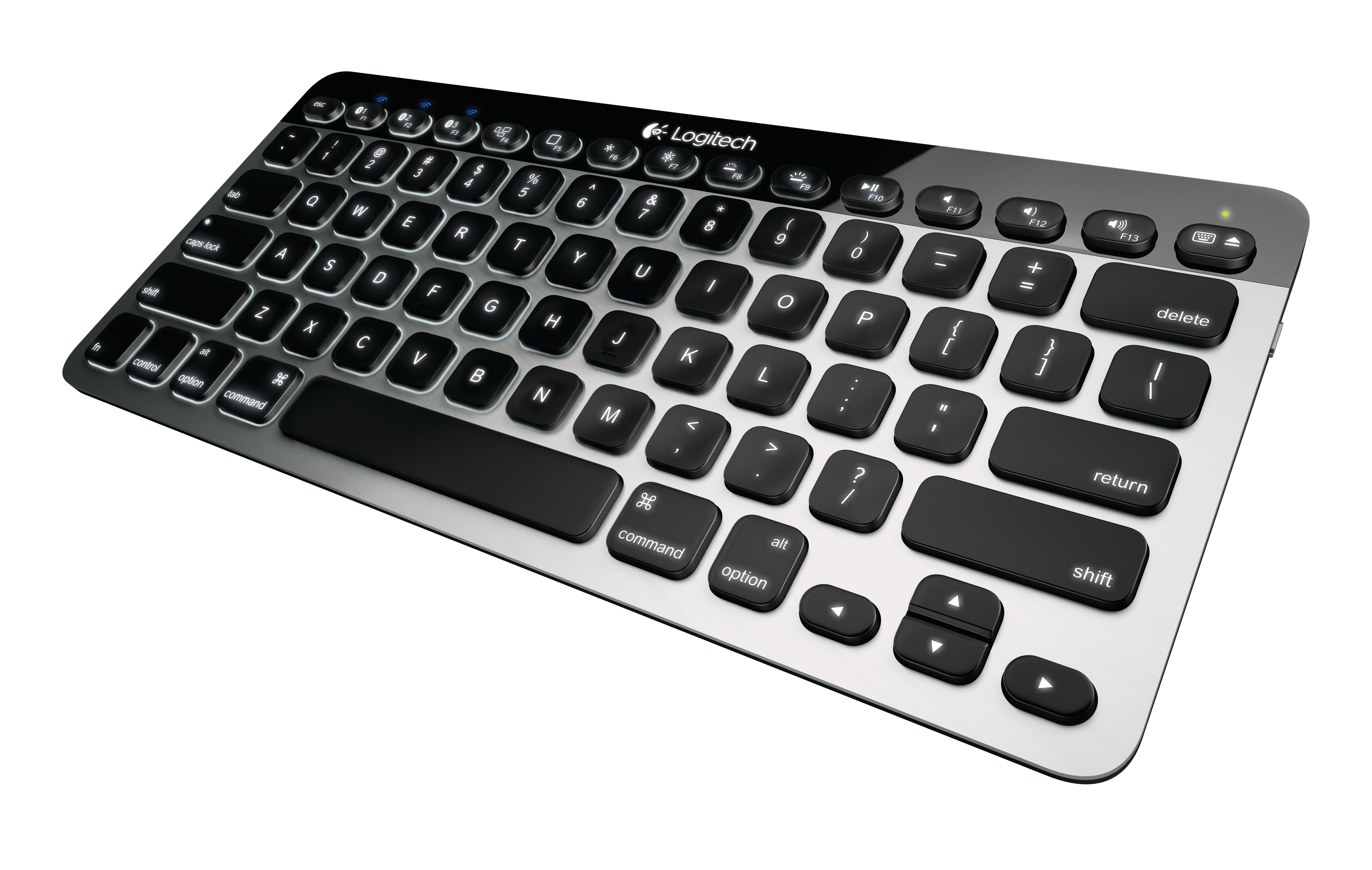 Logitech je predstavil tipkovnico in praktičen trackpad za uporabnike naprav Apple.