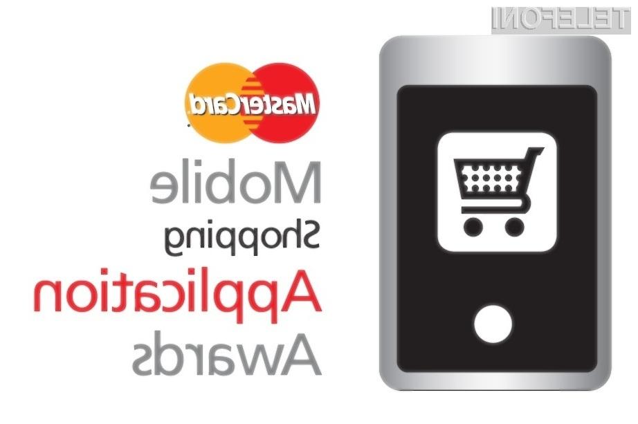 MasterCard je objavil natečaj za najboljšo aplikacijo za nakupovanje preko mobilnega telefona