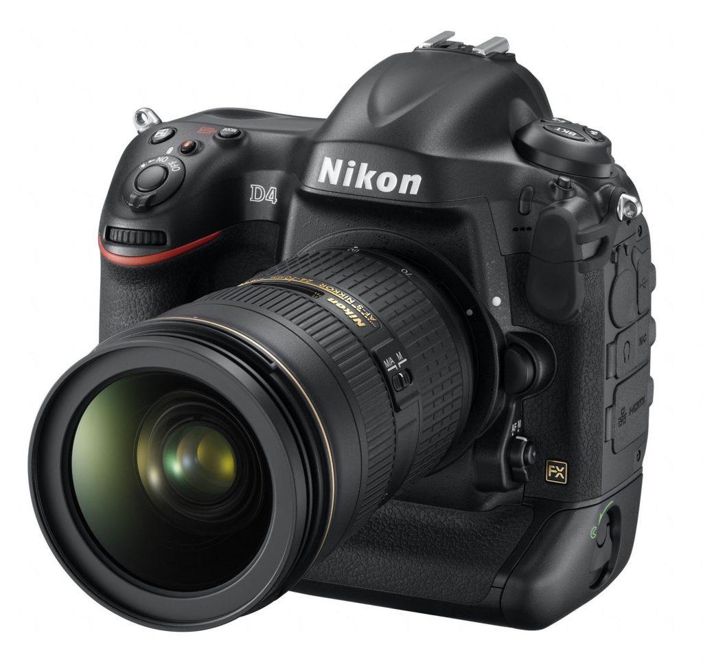 Nagradi iF Design Award 2013 za Nikon D4 in sistem Nikon 1