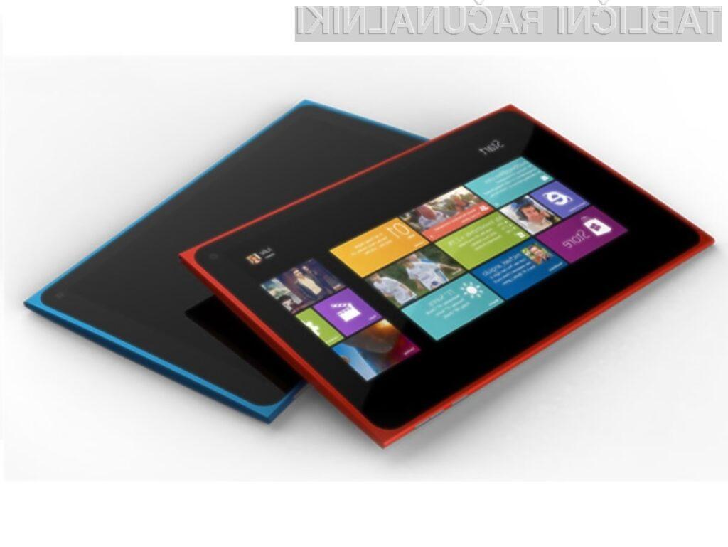 Prvi tablični računalnik Nokia naj bi bil naprodaj že v prvi polovici leta 2013.