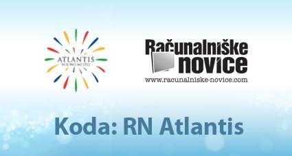 (delete)RN Atlantis: Več prijateljev imaš, večji popust dobiš