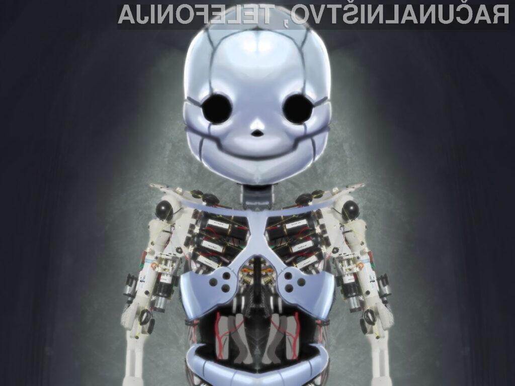 Roboy bo prvi robot, ki bo na las podoben človeku.