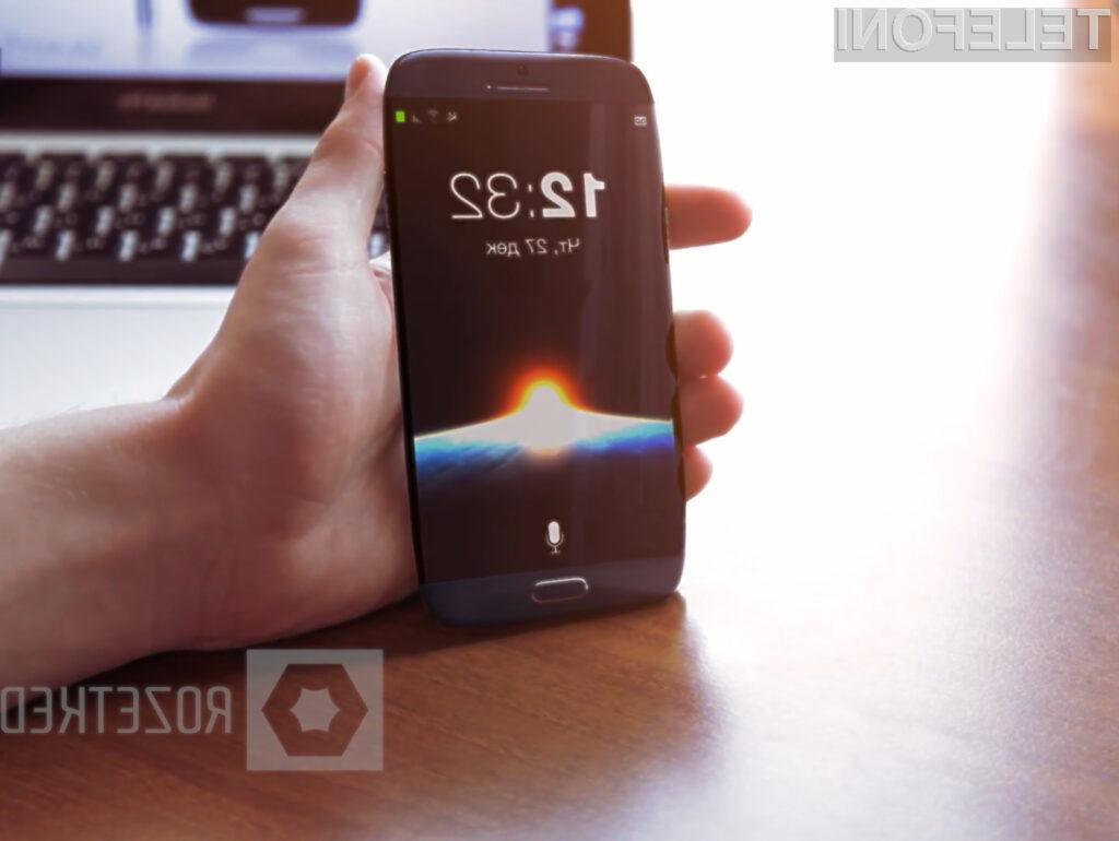 Čeprav gre zgolj za koncept, pa bi lahko dejanski Galaxy S4 izgledal precej podobno.