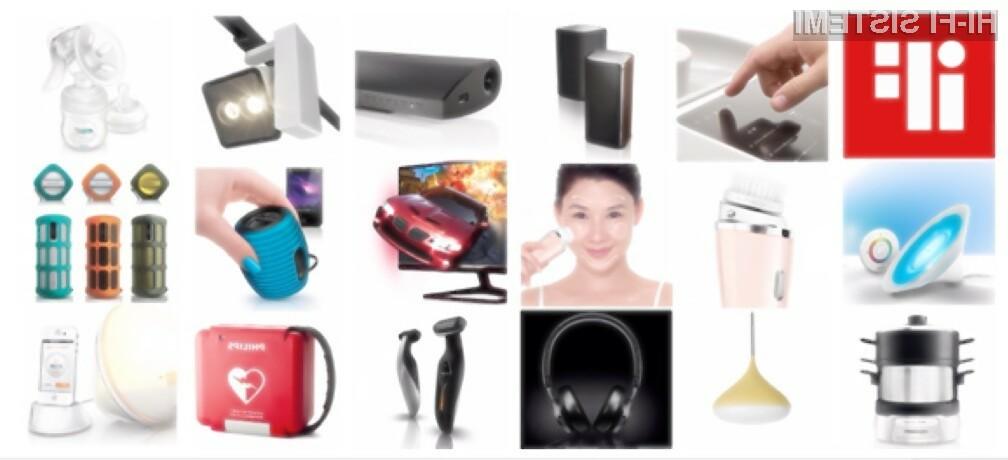Philips je skupno prejel kar 39 prestižnih nagrad iF design award 2013.