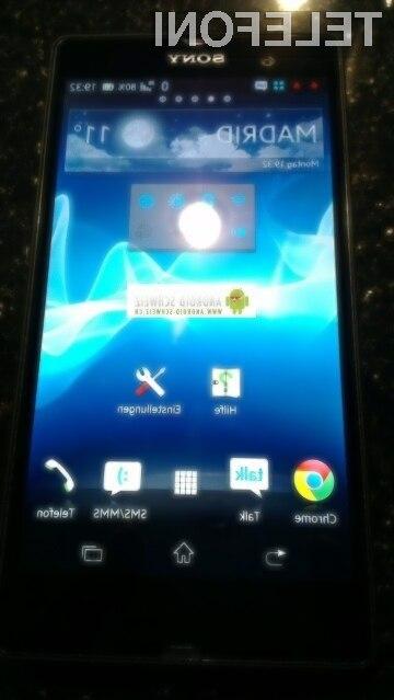 Bo Xperia Z L36h le ena izmed različic že predstavljenega telefona Yuga?
