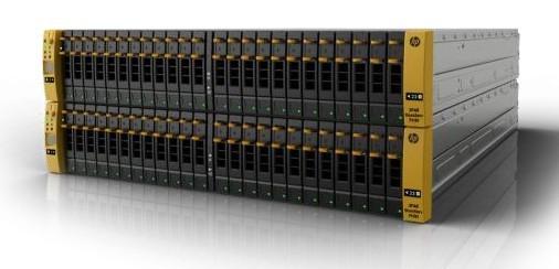 HP 3PAR Store 7400 s štirimi krmilniki
