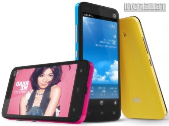 Mobilnik Xiaomi MI-2 se lahko pobaha z izjemno zmogljivostjo in zelo nizko ceno!
