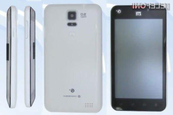 ZTE želi z modelom U887 konkurirati prihajočemu Samsungovemu modelu Galaxy S4.