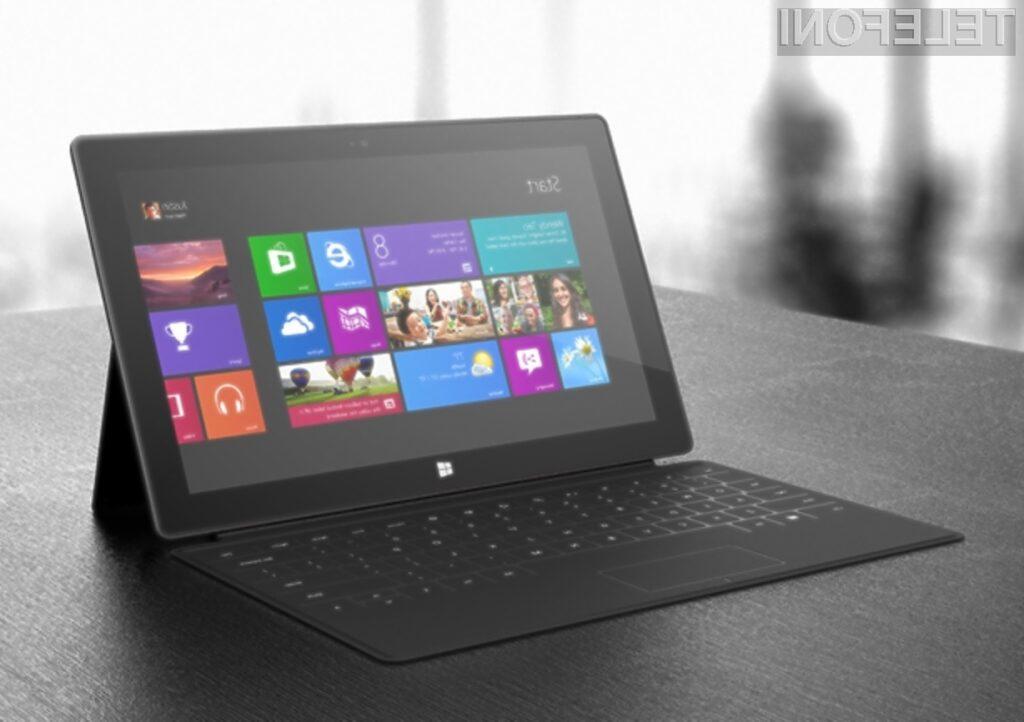 Microsoft Surface Pro združuje prednosti tablic in prenosnih računalnikov.