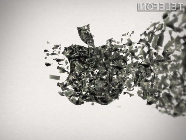 Trgovci pri prodaji Applovih izdelkov zaslužijo le, če jih ne prodajo pod priporočeno ceno!